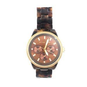 NWOT - Michael Kors Tortoise Shell Watch